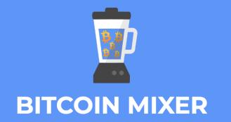 Bitcoin mixing service