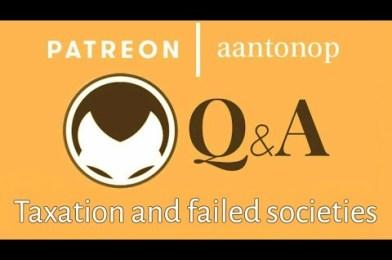 س&ج: الضرائب وفشل المجتمعات –  أندرياس أنتونوبولس