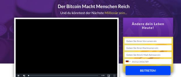 Bitcoin Revolution. Auch als Bitcoin Superstar, Bitcoin Billionaire und Bitcoin Profit bekannt.