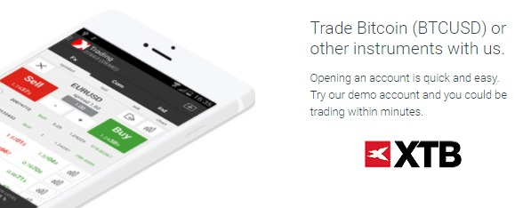 XTB Bitcoin trading