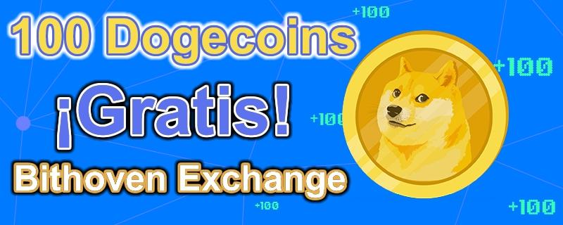 Bithoven nuevo Exchange que regala 100 Dogecoin por registro