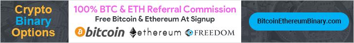 Bitcoin & Ethereum Binary Options