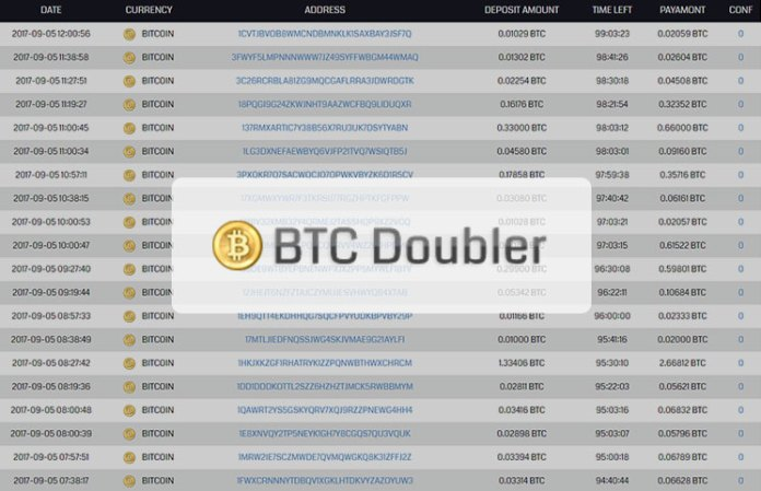 BTC Doubler