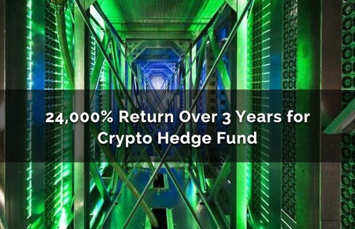 24,000% Return Over 3 Years For Bitcoin Hedge Fund By Pantera Capital