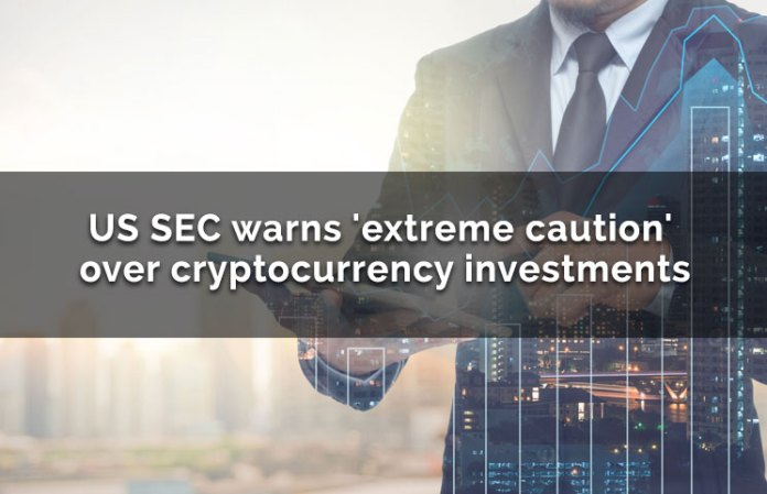 US SEC Warns 'Extreme Caution' Over ICO Cryptocurrency Investments