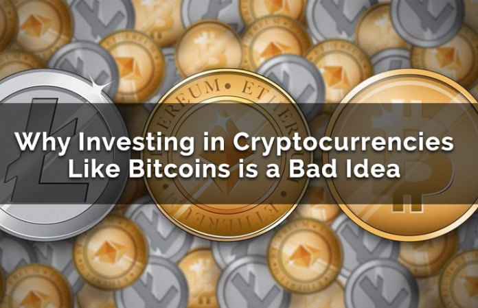 Why Investing In Bitcoin & Cryptocurrency ICOs Could Be A Bad Idea Now