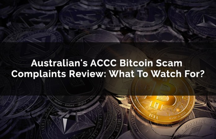Australian's ACCC Bitcoin Scam Complaints Review