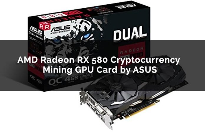AMD Radeon RX 580 Cryptocurrency Mining GPU Card By ASUS
