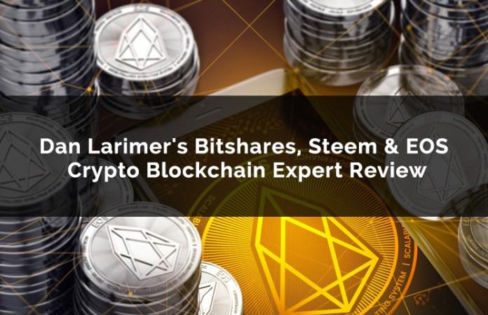 Dan Larimer's Bitshares, Steem & EOS Crypto Blockchain Expert