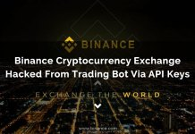 Binance Cryptocurrency Exchange Hacked From Trading Bot Via API Keys