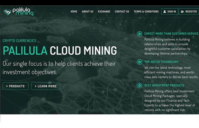 paliluna mining homepage