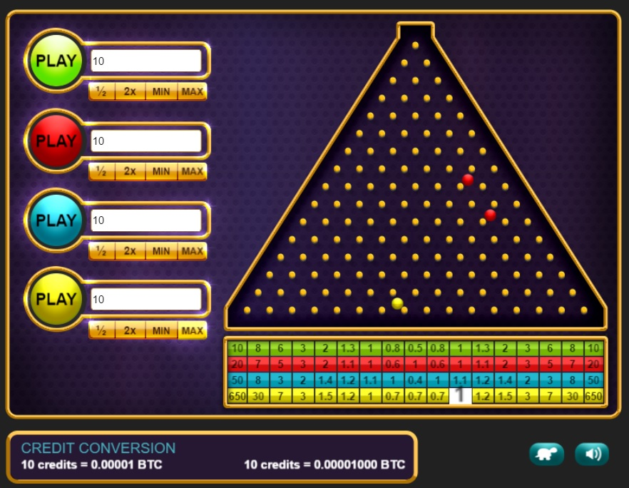 Crypto-Games New Game – Plinko!