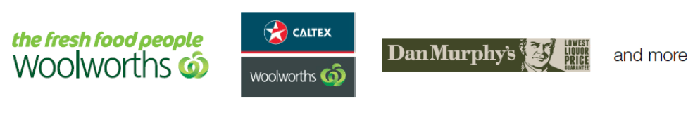 Woolworths, Clatex, Dan Murphy's and more...