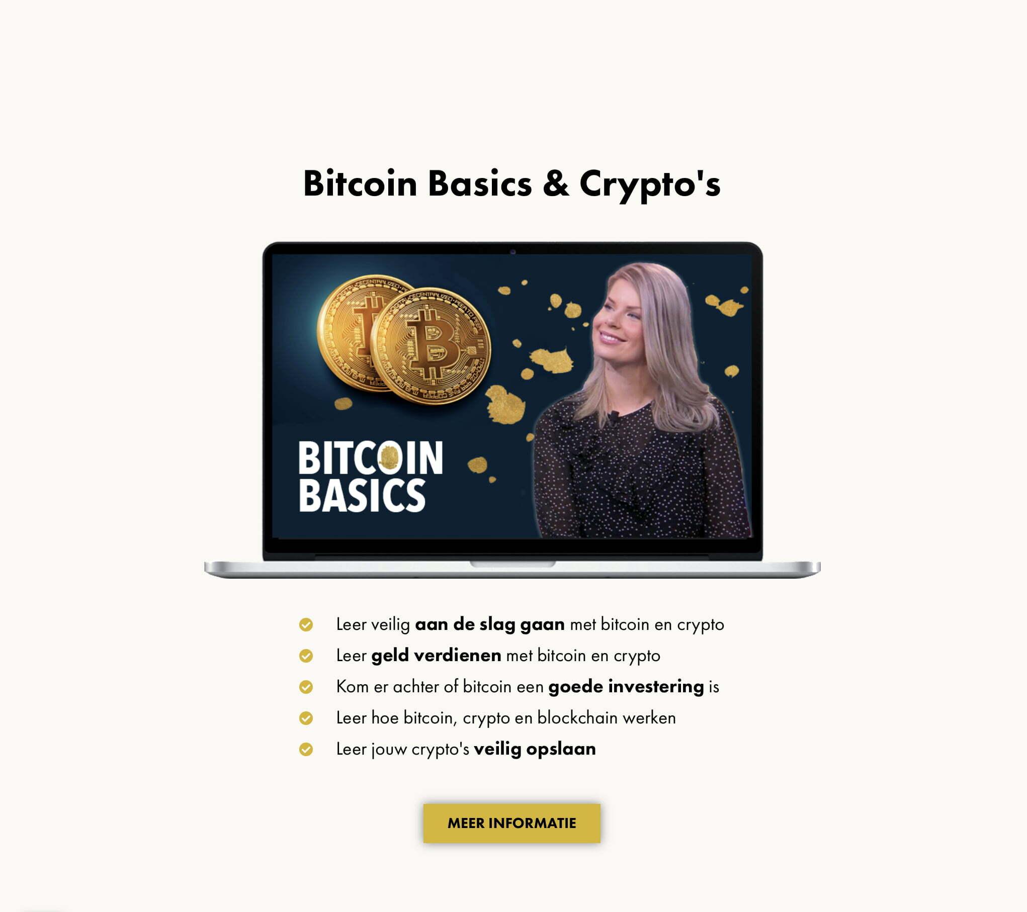 Madelon Vos cursus basics crypto