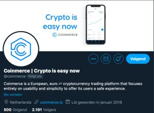 Coinmerce Twitter