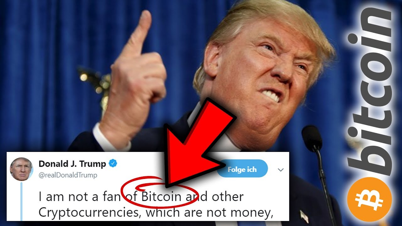🛑BREAKING: DONALD TRUMP TWEETS ABOUT BITCOIN!!!🛑