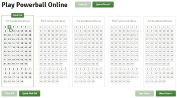 LottoPark - Pick your lucky numbers