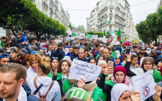 Algeria protests bitcoin