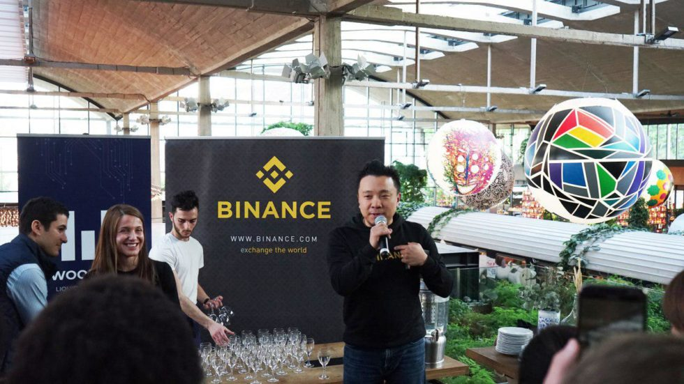 binance cfo wei zhao