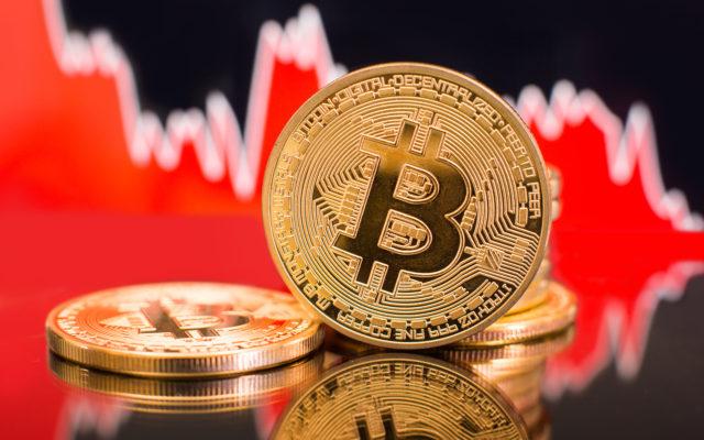 Bitcoin Preis Crash Dump rot