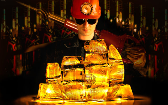 bitcoin blockchain gold miners