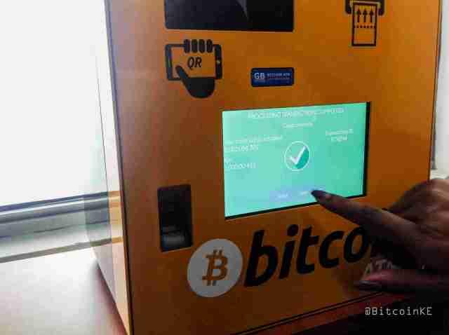 A Look at the First Bitcoin ATM in Kenya - Bitcoin KE