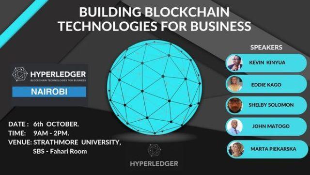 First HyperLedger Nairobi Meetup Happening on October 6