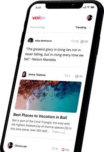 Block One Announces Voice, a New Decentralized Social Media