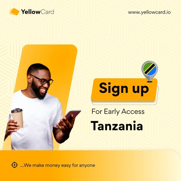 Yellow Card Crypto and Gift Platform Enters Tanzania – Get Early Access