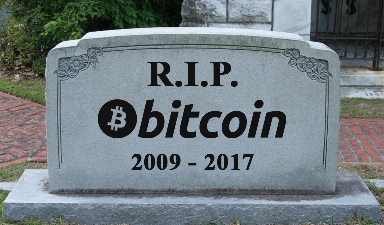 Bitcoin and the Dead Cat Bounce