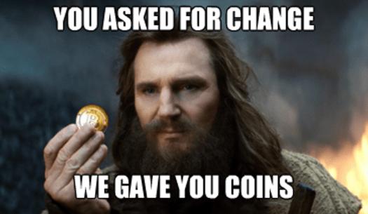 Liam Neeson bitcoin Meme