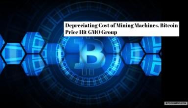 Depreciating Cost of Mining Machines, Bitcoin Price Hit GMO Group