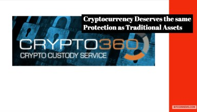 Crypto360 Exclusive: Inheritance, Custody – Crypto Deserves Same Protection as Traditional Assets