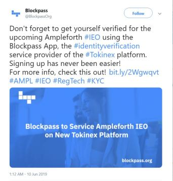 Blockpass to Provide KYC Verification for Bitfinex's New IEO Platform
