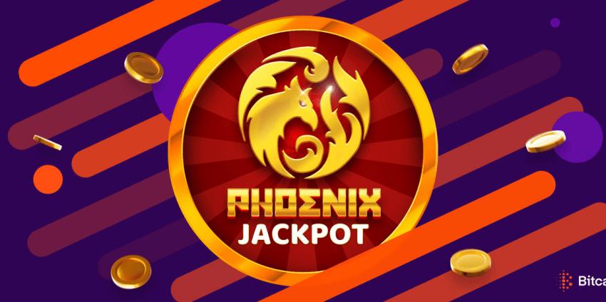 Bitcasino Launches Revolutionary Phoenix Jackpot Game