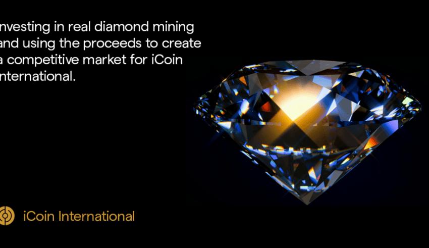 PR: iCoin Takes Diamond Mining to Blockchain, Launches IEO