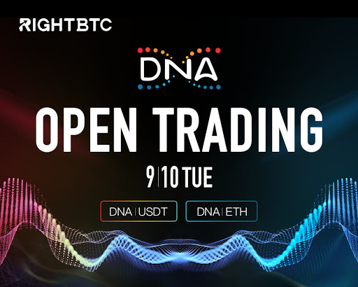 PR: Metaverse Foundation Launches New DNA Token on RightBTC