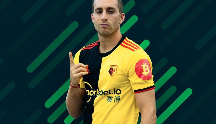 Watford FC and Sponsor Sportsbet.io add Bitcoin Symbol to 2019 Home Kit