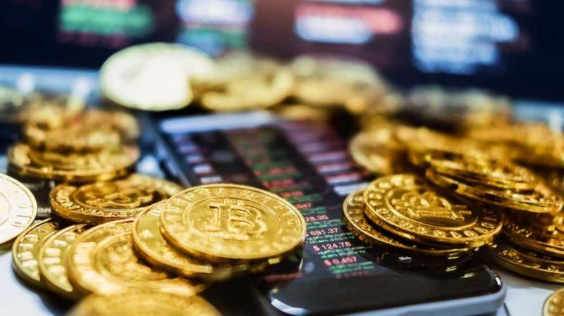New virtual money concept, Gold Bitcoins