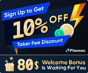 Phemex - 10 off