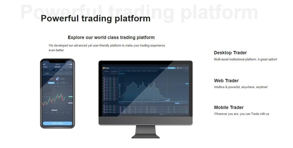 Celox Trading Platforms