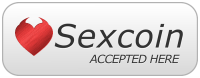 Sexcoin Accepted Here Logo