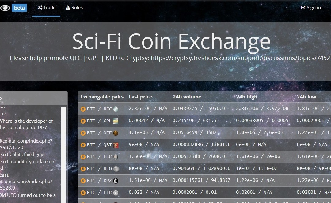 To Boldly Go Where No Crypto Has Gone Before – New SciFi Coins Exchange Launches With Star Trek Coins