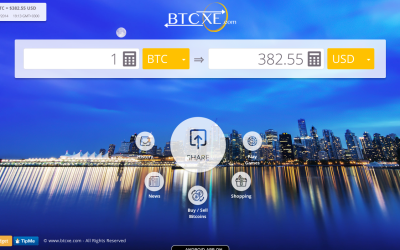 Btcxe.com Launches Bitcoin iPhone And Android App For Conversion And News