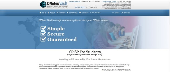 CRISP ForStudents Screenshot