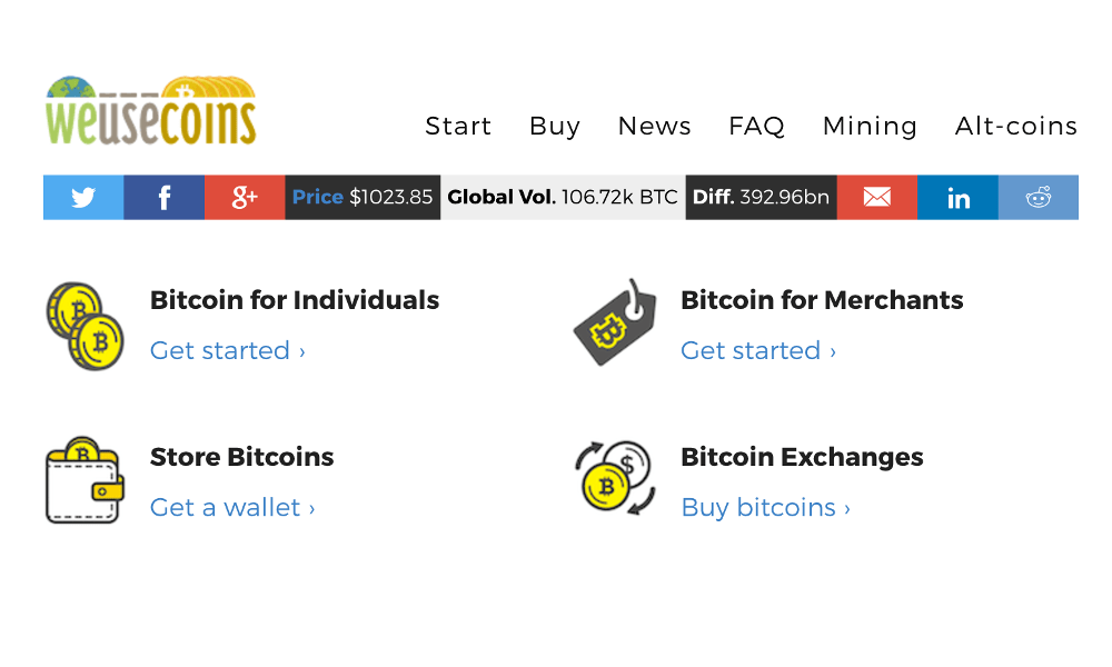 Bitcoin PR Buzz WeUseCoins Guide