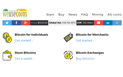 WeUseCoins Releases a Comprehensive Worldwide Guide on How to Buy Bitcoin