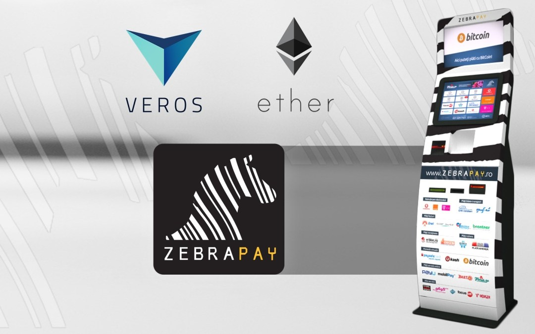 ZebraPay to Support VEROS and Ether Cryptocurrencies Soon