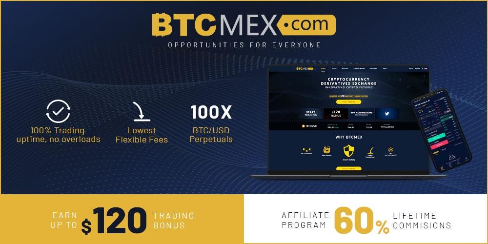 Derivatives Exchange BTCMEX Launches Lucrative Affiliate Program and $120 Trading Bonus