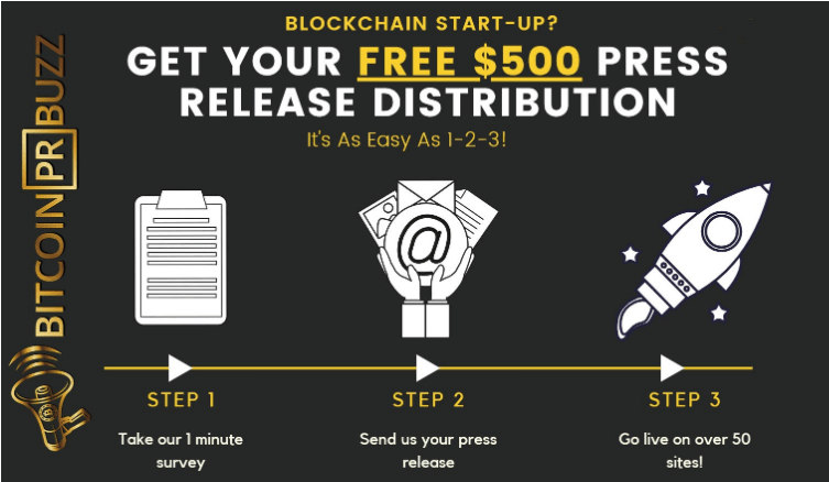 Crypto Press Release Service Bitcoin PR Buzz Are Offering a Free Consultation and $500 Press Release